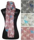 Chihuahua Dog Print Scarf / Ladies Fashion Scarves Shawl Pashmina