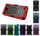 For Samsung Galaxy Mega 2 Robotic Holster Belt Clip Stand Multi Color Case