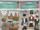U CHOOSE  Jolee's NUTCRACKER  SANTA'S WORKSHOP 3D Stickers Christmas