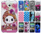For HTC Desire 510 HARD Protector Case Snap On Phone Cover Accessory
