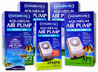 INTERPET AP MINI 1 2 3 4 AIR PUMP QUIET AQUARIUM FISH TANK TROPICAL COLD WATER