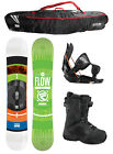 2015 FLOW MERC Brite 156cm WIDE Snowboard+Flow Bindings+Flow BOA Boots+FLOW BAG