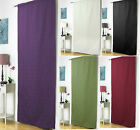 EMBOSSED THERMAL DOOR CURTAIN/IDEAL ENERGY SAVER- PLUM/WINE/CREAM/BLACK or GREEN