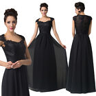 FREE SHIP XMAS Party VINTAGE Lace Long Evening Cocktail Bridesmaids Prom Dresses