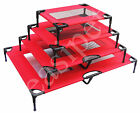 Dog Pet Cat Elevated Bed Portable Raised Camping Cot Indoor Outdoor 4 sizes