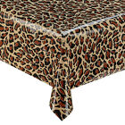 Animal Print Wipe Clean Vinyl PVC Oilcloth Tablecloths - 11 Designs