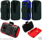 ZTE Zinger Z667T Quality Phone Cover Case + Holster Belt Clip