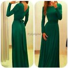 Women Bodycon Long Maxi Dress Backless Party Evening Boho Wedding Mermaid 35DI