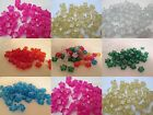 50 - 13mm Sparkle Star Pony Beads Made In USA - Color choice