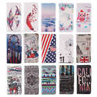 For Apple Cover Multiple Elegant Leather Case Wallet Card Flip Stand Folio Style