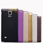 Leather Back Sticker Film Protector Case For Samsung Galaxy Note 4 New Trusty