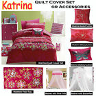 Katrina Quilt Cover Set or Accessories by Jiggle & Giggle - SINGLE DOUBLE QUEEN