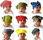 BABY TODDLER BEANIE HATS ONE SIZE FITS 3-12 MONTHS