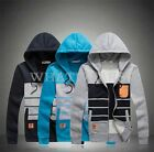 Men's Hoodie Full Zip Up Sweatshirt Hooded Hoodie Zipper Jacket Fashion Coat WFR