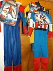 New Disguise Boys Child Costume  Marvel SuperHeroes Shipped w/o Hangers Drop Box