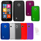 TPU Cover Candy Soft Case + Screen For Nokia Lumia 530