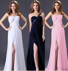 Long Shiny evening dress cocktail Formal Party Prom Ball Gown Bridesmaid dress