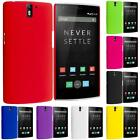 For OnePlus One Hard Snap-On Rubber Finish Rear Cover Case Accessory