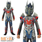 Deluxe Optimus Prime Boys Fancy Dress Transformers 4 Childrens Kids Costume New