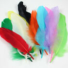 10g OF FEATHERS RANGE OF COLOURS 40 PCS CRAFT COSTUME FASCINATORS DRESSMAKING