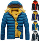 New Men's Hoodie Coat Hooded Jacket Outwear Clothing Thick Thermal Warm Good Hot