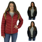 Michael Kors Women's Hooded Quilted Down Packable Coat Jacket