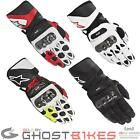 ALPINESTARS SP-1 LEATHER SUMMER SPORTS RACING MOTORCYCLE BIKE ARMOURED GLOVES