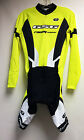 Women's ELITE CYCLING Long Sleeve Skinsuit (Vuelta Pad) in Hi Vis Yellow by GSG