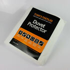 WATERPROOF DUVET QUILT PROTECTOR COVER ANTI ALLERGY SINGLE DOUBLE KING NEW