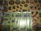 2 X A4 Non Die Cut Decoupage Wildlife & Zoo Animals Tigers, Panda, Zebra & More