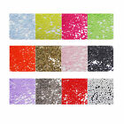 BE01 10g Nail Art Plastic Round Beads-12 colours