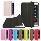 For Apple iPad Leather Stand Smart Case Magnetic Cover Slim Wake Protector Durab