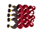 Brazilian Human Hair Extensions Remy Red Body Wave Hot Sale Weave Weft Fashion
