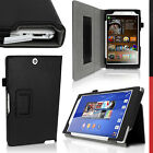 Cuir PU Etui Housse Folio pour Sony Xperia Z3 Tablet Compact Case Cover + Film