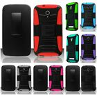 For Alcatel One touch Pop Mega Robotic Holster Belt Clip Stand Hard Cover Case