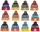 New NFL Mitchell & Ness Throwback High Five 5 Cuffed Winter Hat Cap Knit Beanie $23.95 USD on eBay