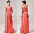 SPECIAL OFFER Long Chiffon Evening Formal Party Gown Prom Bridesmaid MAXI Dress