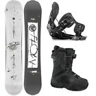 2015 FLOW Whiteout Men's Snowboard+FLOW Five Black Bindings+Flow BOA Boots NEW