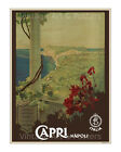 Capri - Reproduction Vintage Italian Travel Poster