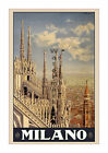 Milano - Reproduction Vintage Italian Travel Poster