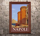 Napoli - Reproduction Vintage Italian Travel Poster