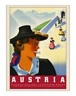 Austria #4 - Reproduction Vintage Travel Poster