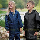 Childrens Kids Waterproof Storm Jacket Coat Breathable Vents Rain Hiking Light K