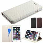 """For iPhone 6 Plus 5.5"""" Classic Business MyJacket Wallet Leather Case Skin Pouch"""