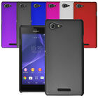 For Sony Xperia E3 Slim Hybrid Hard Case Clip On Shell Cover & Screen Protector
