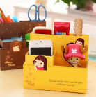 DIY Folding Paper Board Storage Box Organizer Bag Case Cosmetic Makeup Container