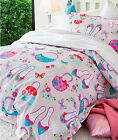 GIRLS IN THE CITY - Girls Quilt / Duvet / Doona Cover Set - SINGLE DOUBLE