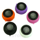 3.5mm Portable USB Hamburger Rechargeable Speaker For iPod iPhone Laptop Mini