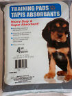 Puppy Training Pads FOUR PACK 4 Heavy Duty Floor Mats 22 x 22 Super Absorbent Pk