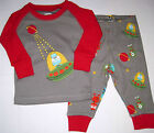NWT Gymboree Boys Alien Martian Spaceship 2pc Gymmies Pajamas U Pick Size NEW